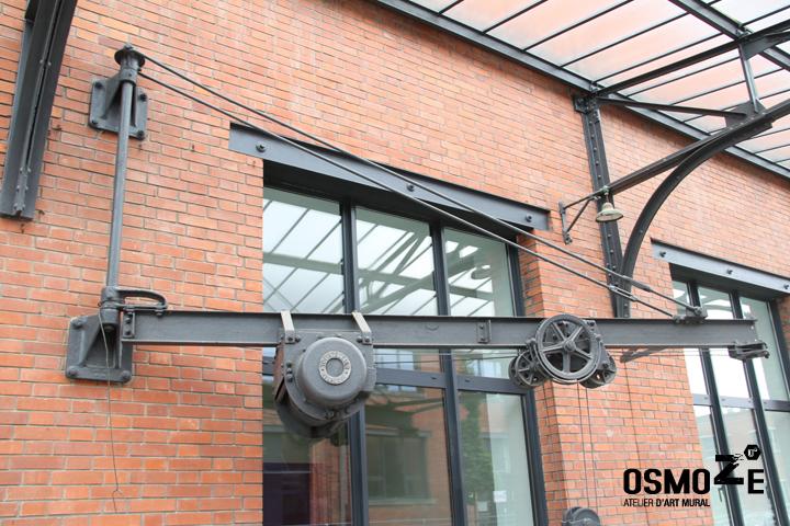Décoration Murale & Signalétique > Hall Accueil > Association Handicap ARAHM Mulhouse