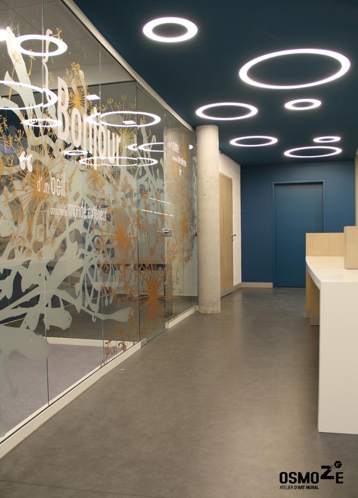 Décoration Murale & Vitrophanie Design > Poly Clinique Accueil > Décor Fresque Graphique > Blois Loire