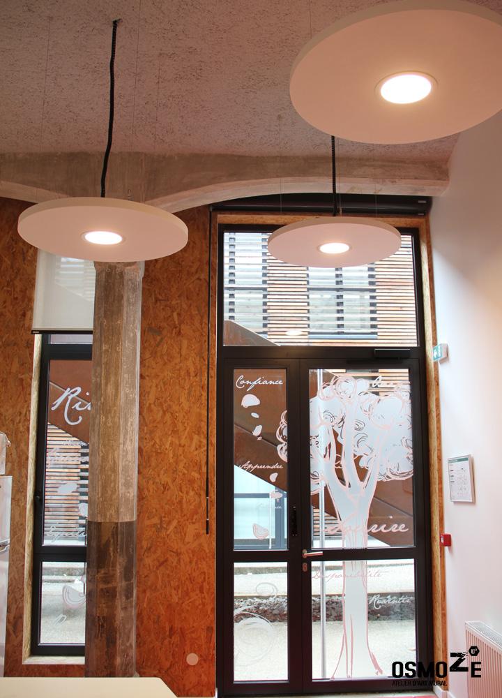 Décoration Murale & Signalétique > Vitrophanie > Association Handicap ARAHM Mulhouse