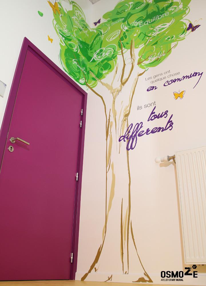 Décoration Murale & Signalétique > Couloir > Association Handicap ARAHM Mulhouse