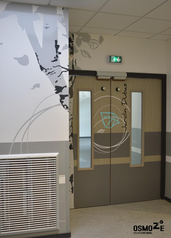 Décoration Murale & Signalétique > Marquage Porte > IME Institut Médico Educatif > Voreppe Isère