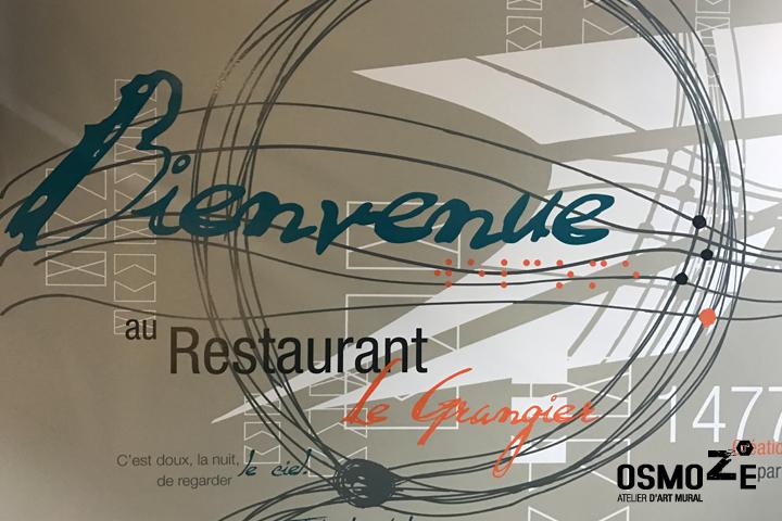 Décoration Murale > Hall > Restaurant Entreprise La Poste Dijon