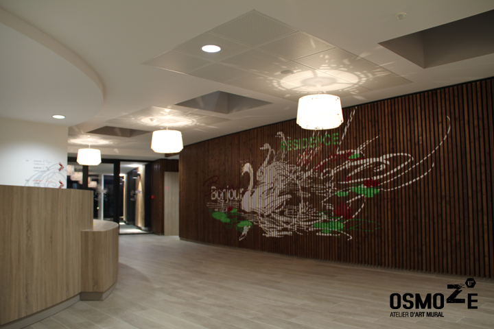 Signalétique et décoration murale > Ehpad > Entrée