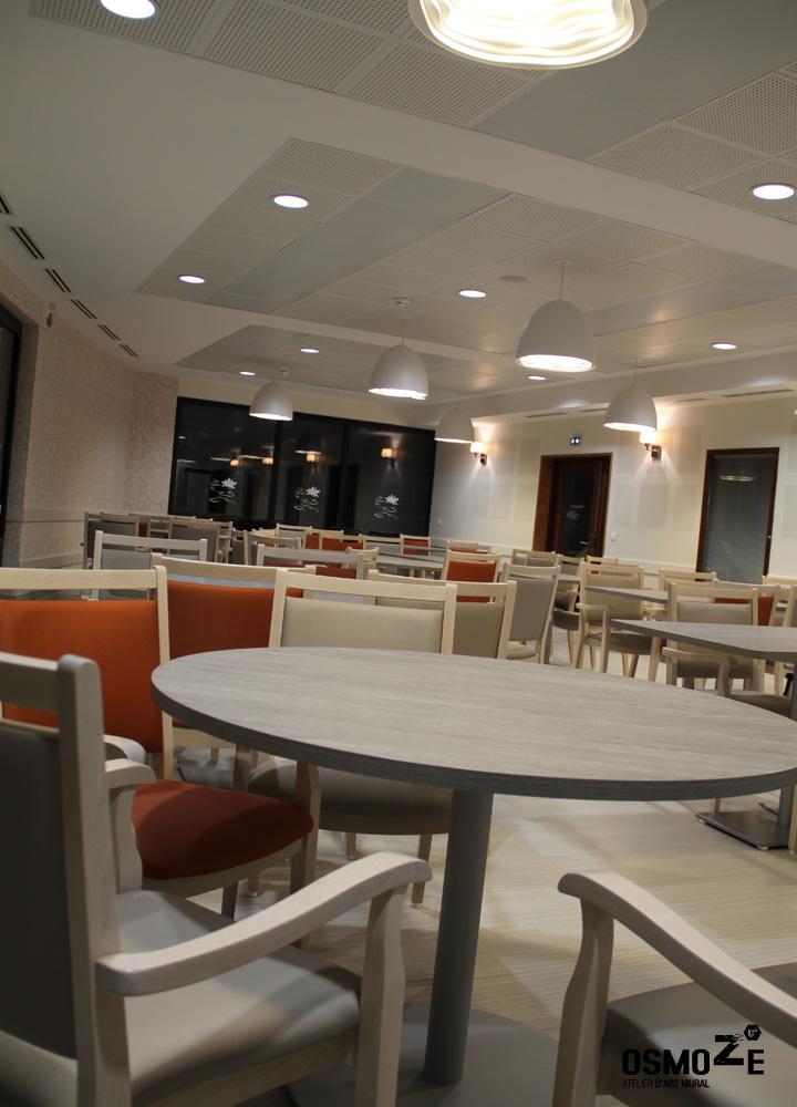 Revêtement Mural > Ehpad > Restaurant