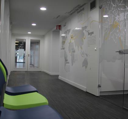 Vitrophanie Salle Réunion Université > Signalétique Unistra >  Strasbourg