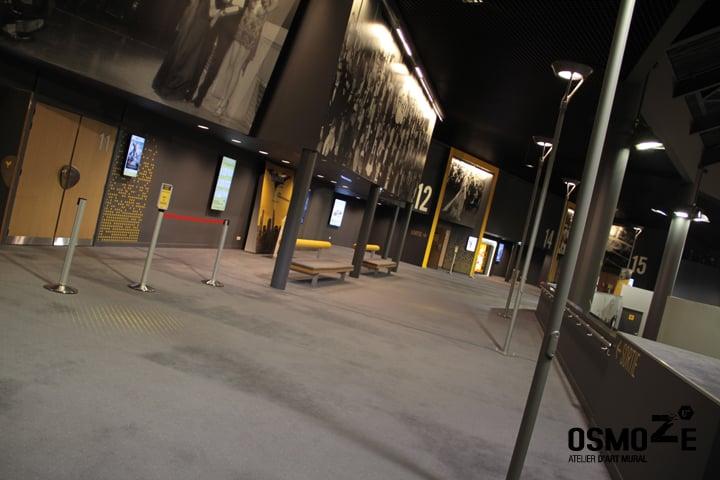 Décoration murale > Cinéma Pathé Gaumont > Hall Accueil > Strasbourg