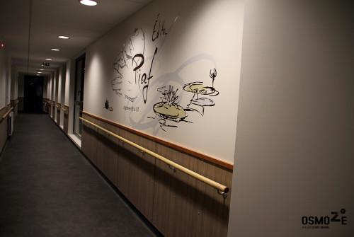 D coration artistique et murale ehpad r sidence les for Deco murale fiat 500