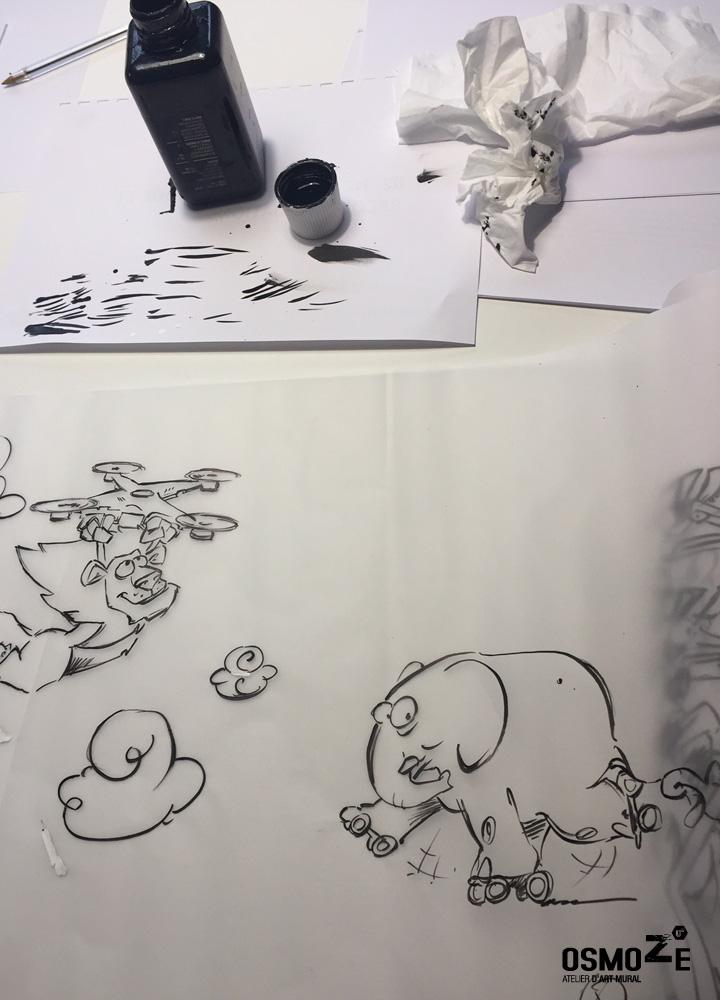Décor Mural Enfant > Hôpital Pédiatrie > Animaux