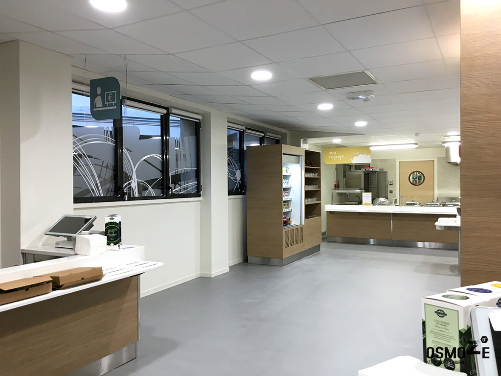 Décoration architecturale restaurant d entreprise la