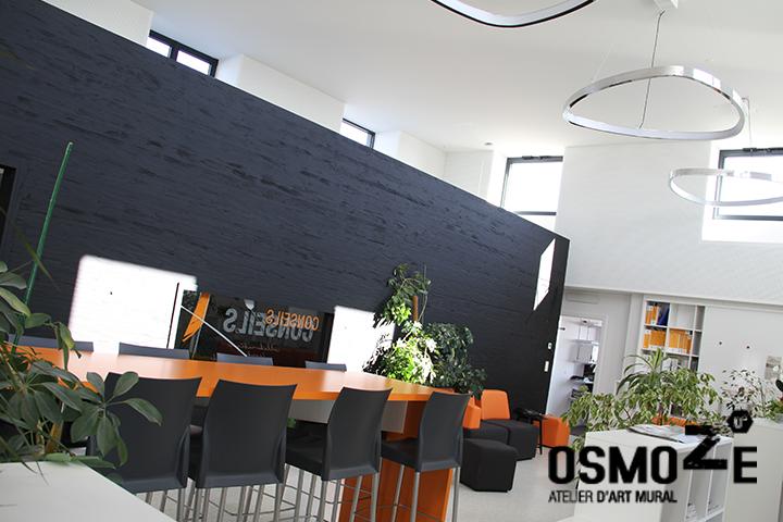 Marquage Murale Artistique > Cabinet Architecture M Associé > Open Space