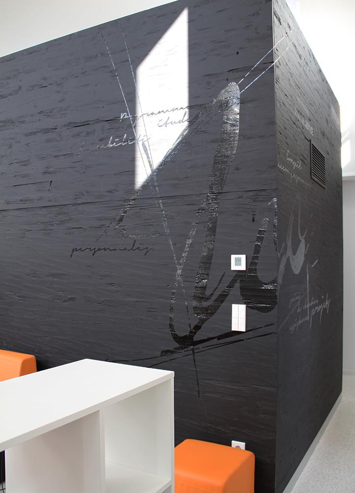 Marquage Murale Artistique > Cabinet Architecture M Associé > Bois
