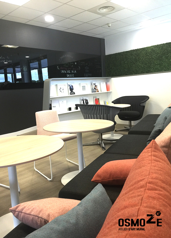 Décoration Murale Contemporaine  >Steelcase France > WorkCafé