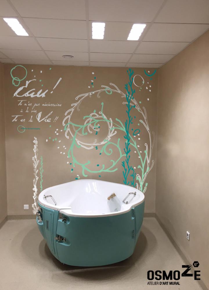 Décoration Murale Hôpital > Balnéothérapie > CHU NORD EST