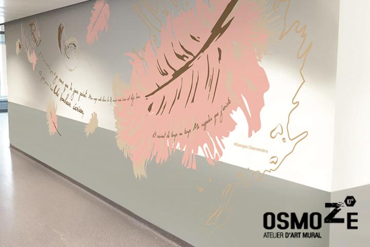 Décoration Murale Hôpital > Maternité > CHU NORD EST