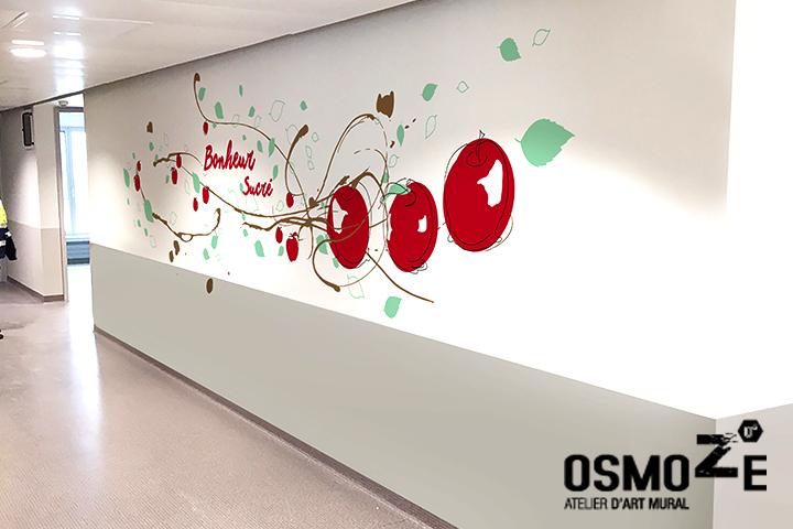 Décoration Murale Hôpital > Maternité 2 > CHU NORD EST