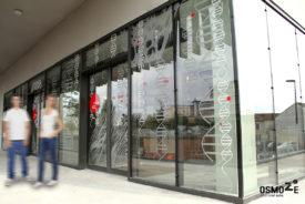 Décoration murale et signalétique : CROUS de médecine à BORDEAUX