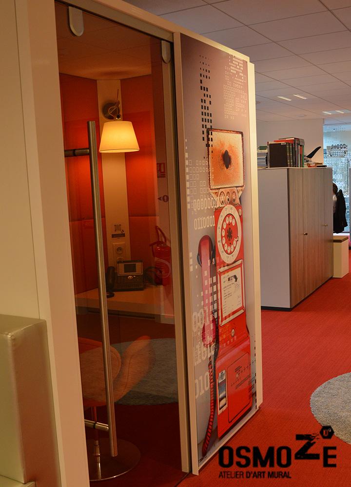 Décoration murale > Phone Box et Bubble > Nokia Alcatel Paris
