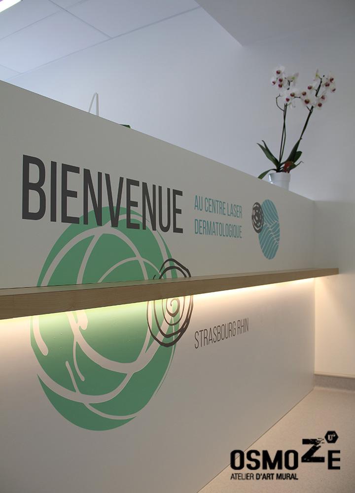 Décoration murale japonisante et zen > Centre Laser > Clinique > Accueil
