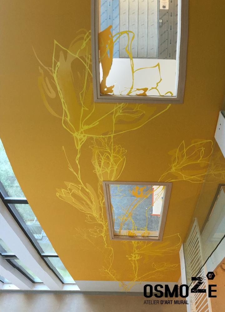 Décoration murale monumentale>Bruxelles>Polyclinique CHU Brugmann