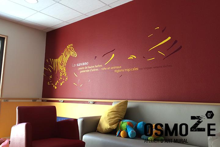 D coration murale monumentale et signal tique artistique for Decoration murale vegetale