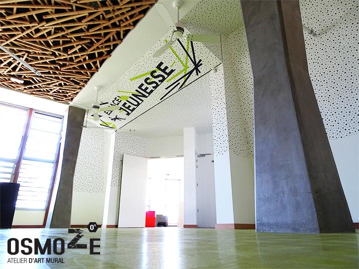 Le Voyage Continue Pour L Atelier D Art Mural Osmoze Cap Sur L Le Au Volcan Osmoze