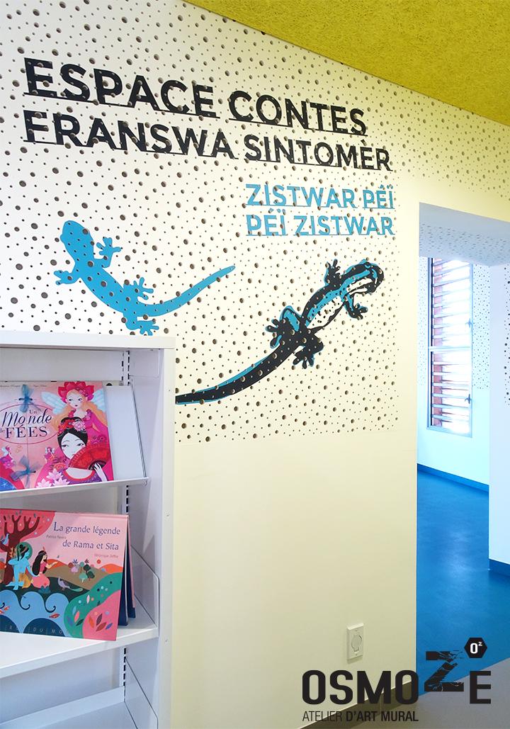 Le voyage continue pour l atelier d art mural osmoze cap for Decoration murale voyage