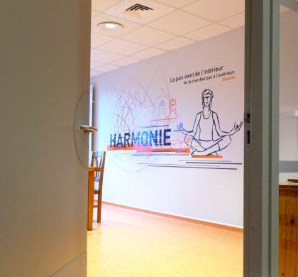 Décoration murale Centre Hospitalier>CH Le Quesnoy