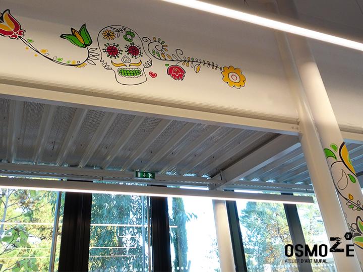 Décoration murale tendance>Restaurant Crous Bordeaux>Veracruz>Crâne