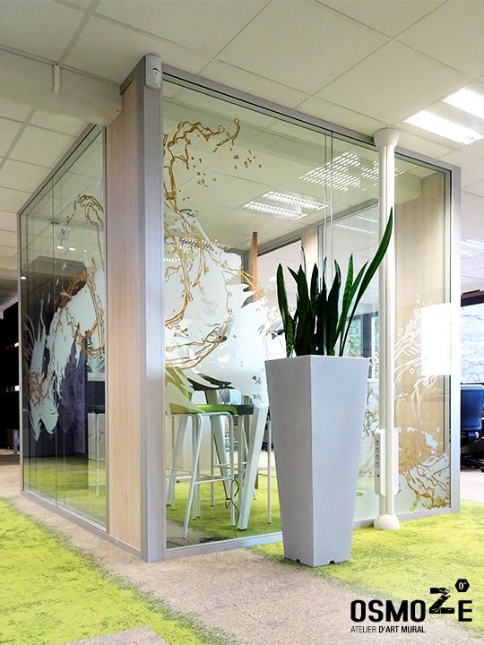 Décoration >Design>Groupe Spadel>Vitrophanie>Bubble