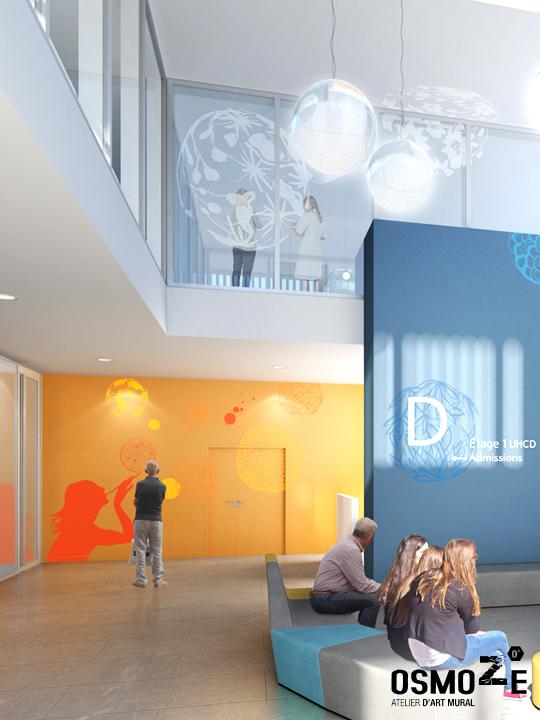 Décoration murale et signalétique artistique > Design mural>appels à projets>maîtrise d'oeuvre