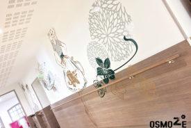 Décoration et Signalétique Murale Contemporaine > Végétale > Ehpad Le Verger > Couloir