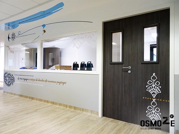Décoration murale > centre de dialyse> Calydial