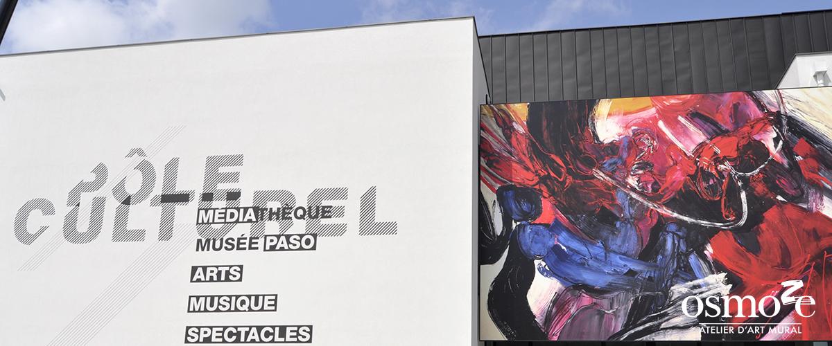 Décoration murale et signalétique artistique > Décoration et signalétique décorative > Fresque design > Façade