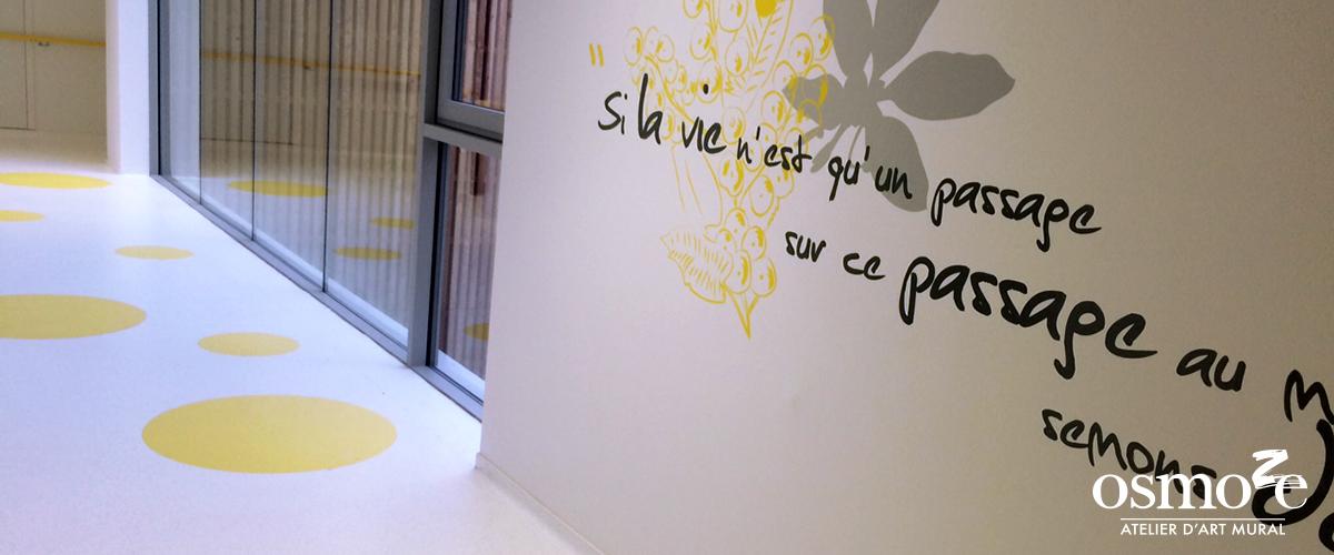 Décoration murale et signalétique artistique > Décoration et signalétique décorative > Fresque design > Sol