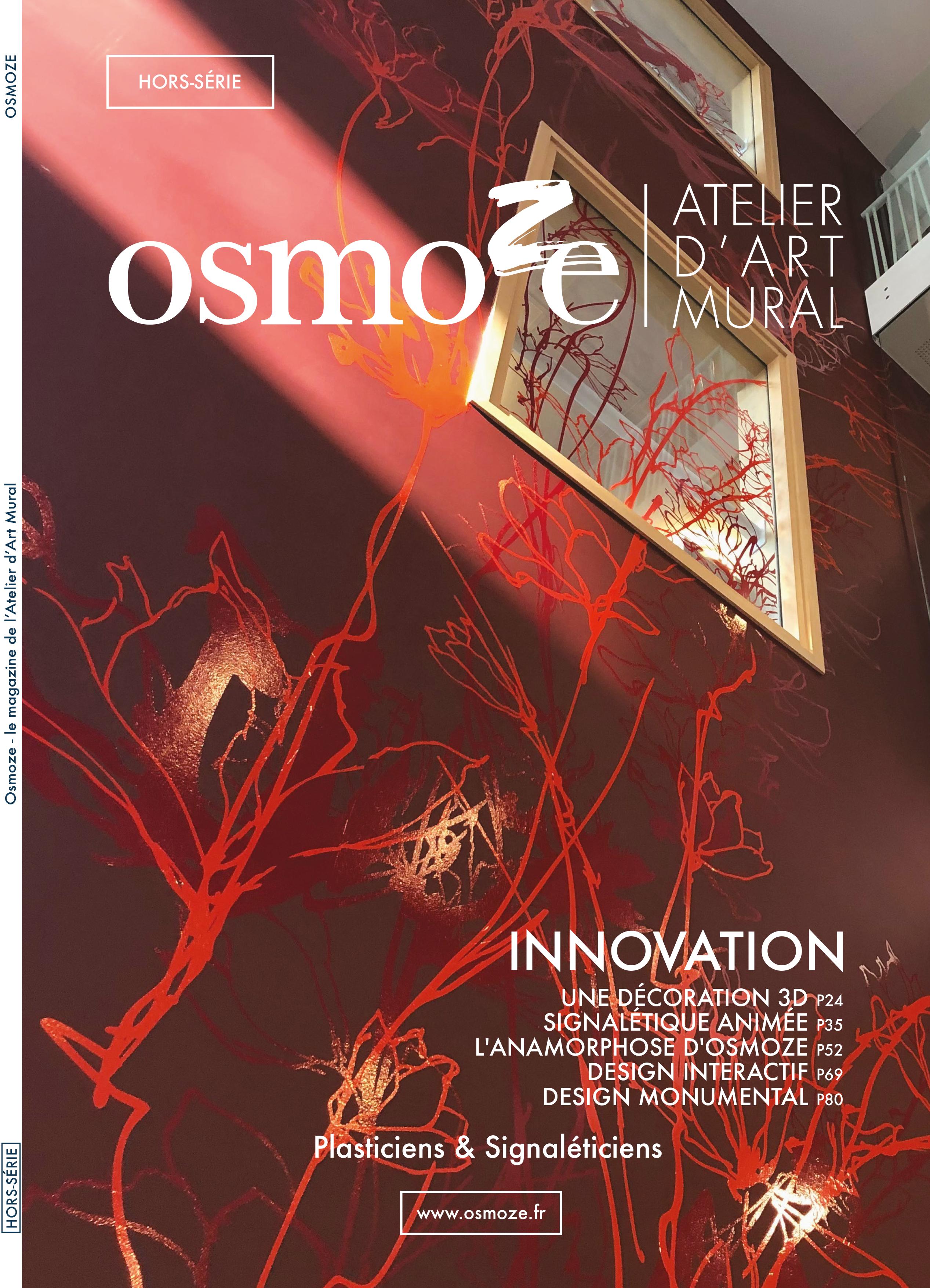 Osmoze > Magazine > Signalétique > Design mural > Références