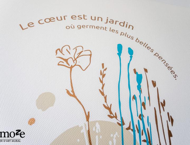 Osmoze > Décoration murale > Signalétique décorative > Bourgueil > Coeur