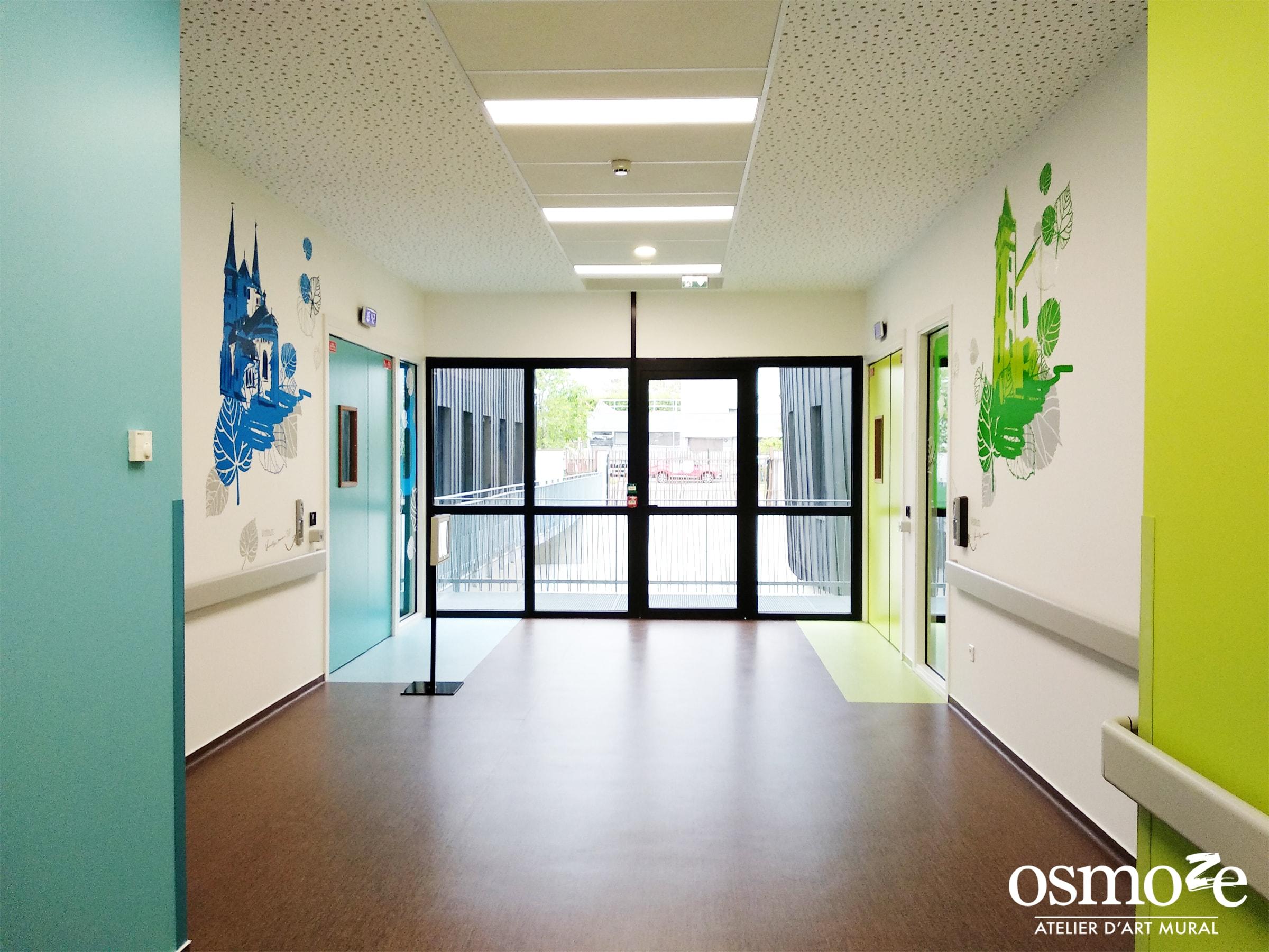 Décoration murale > Signalétique décorative > Vitrophanie > Osmoze > EPSAN > Cronenbourg > Strasbourg