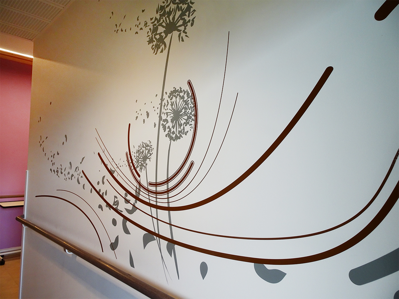 Osmoze > Décoration murale > Mas de la rose des vents > pissenlits