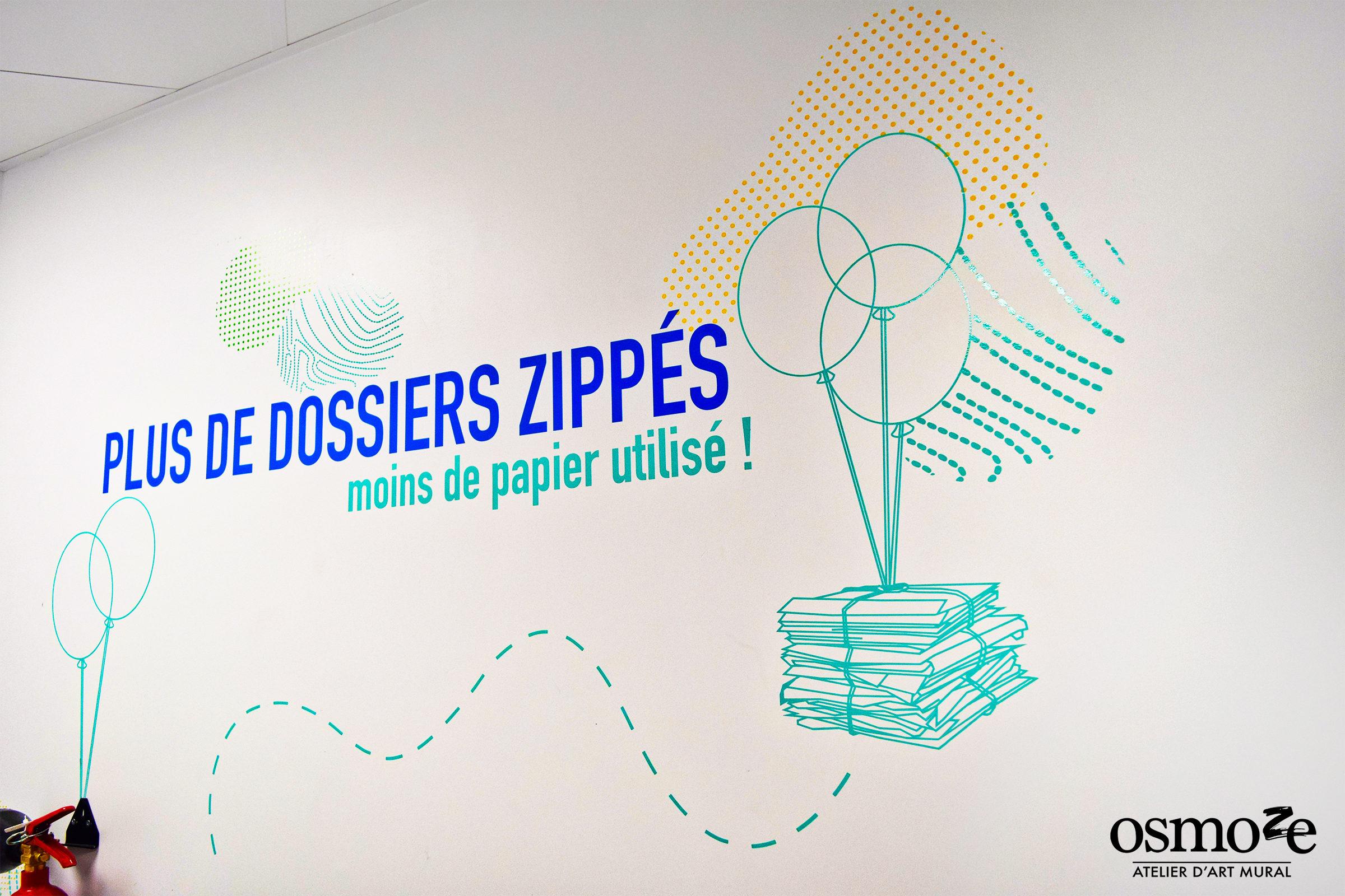 Osmoze > Décoration murale > ICADE > Ballons