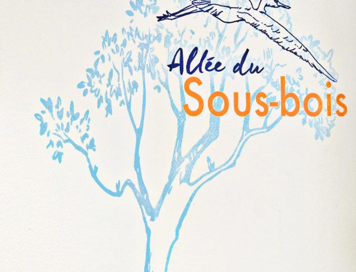 Osmoze > Décoration murale Ehpad > Ehpad Chateauroux > Sous bois