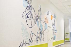 Osmoze > Décoration murale > Ehpad Chateauroux > Equitation