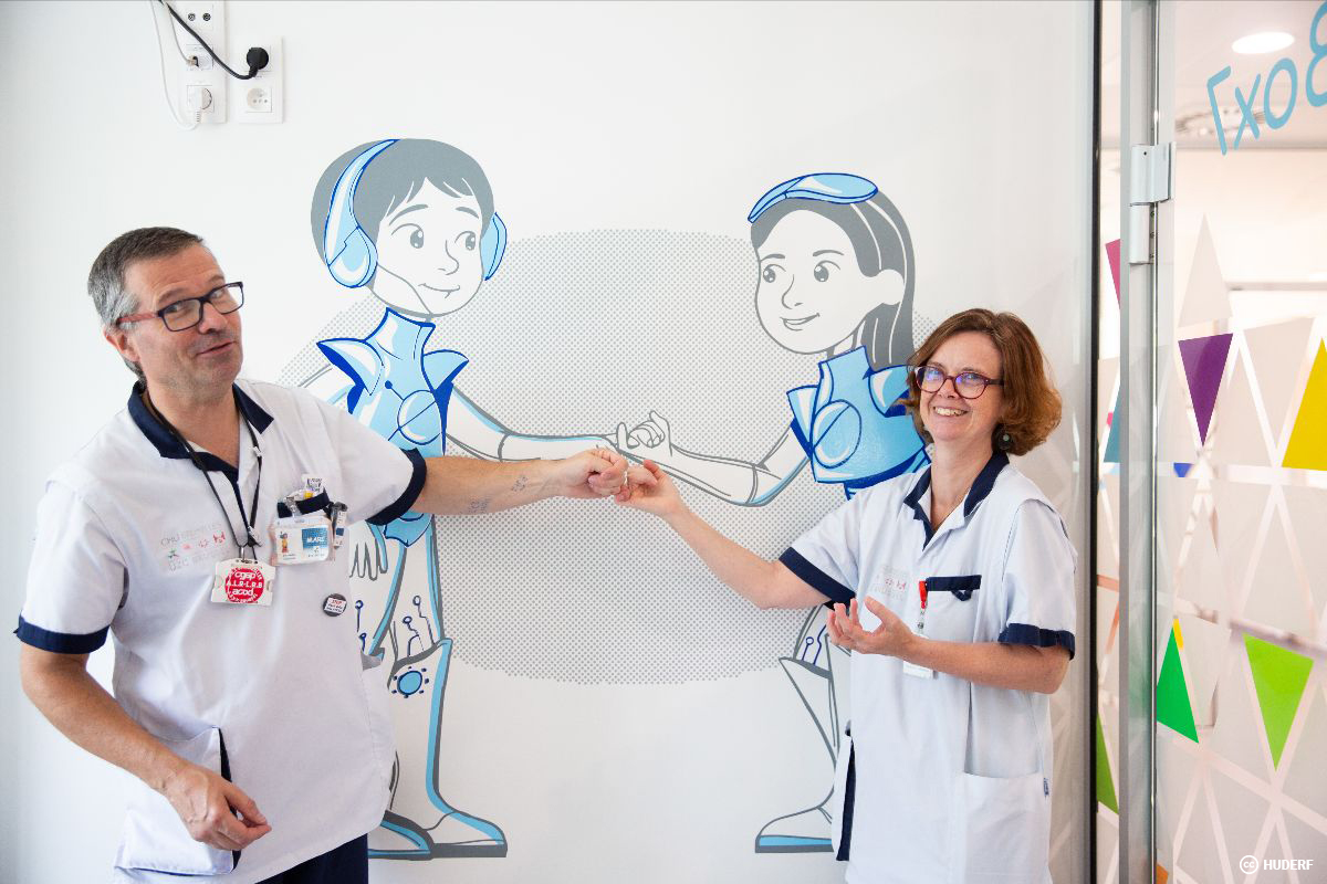 Décoration murale hôpital > HUDERF