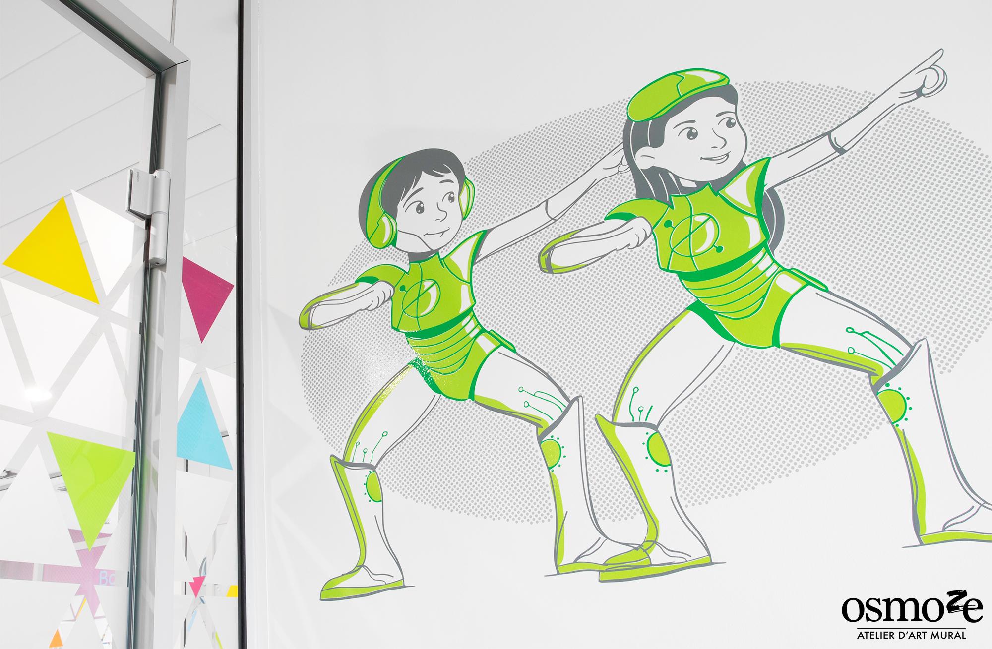Décoration murale colorée > HUDERF