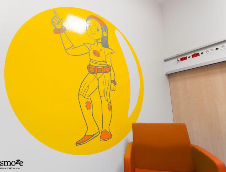 Décoration murale vivace > HUDERF