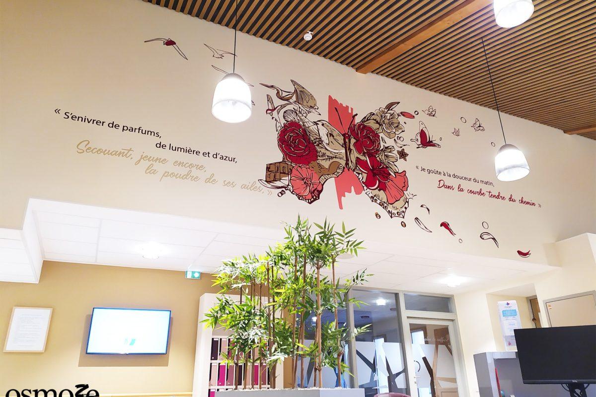 Décoration murale Accueil > Ehpad Emilien Bouin