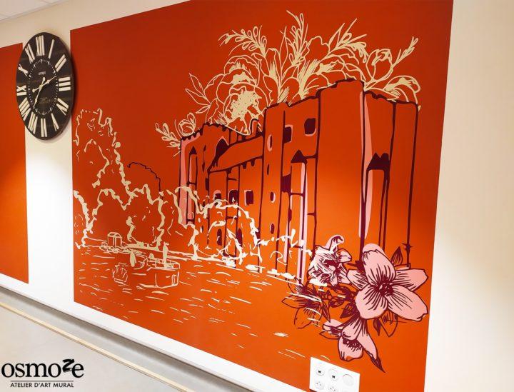 Décoration murale automnale > Ehpad Emilien Bouin