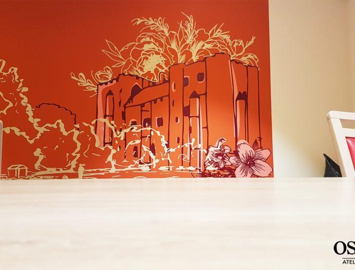 Fresque adhésive > Ehpad Emilien Bouin