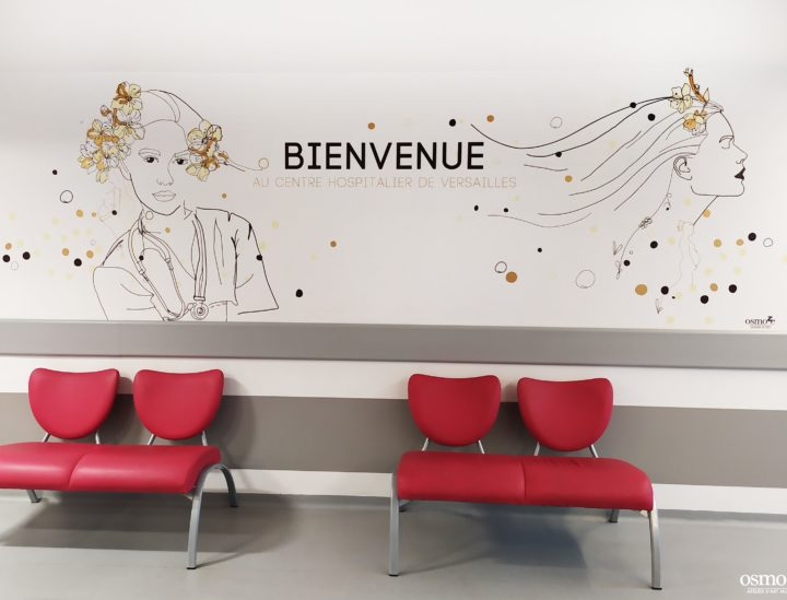 Décoration murale sticker - Ch Versailles
