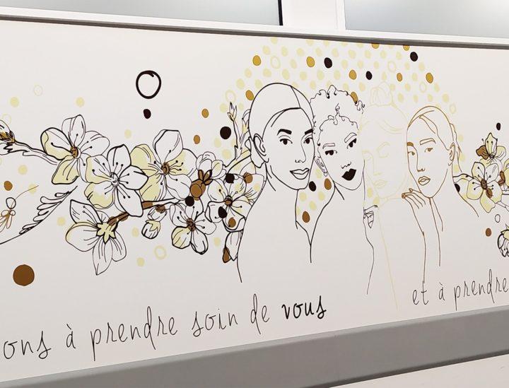 Sticker signalétique - Ch Versailles