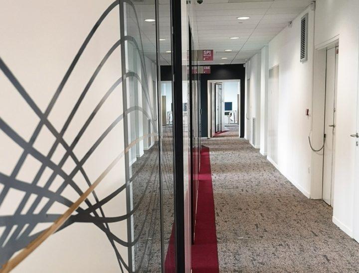 Frise couloir > Crédit mutuel Lille